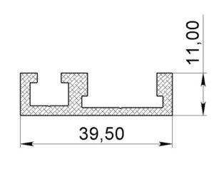 алюминиевый профиль Т3
