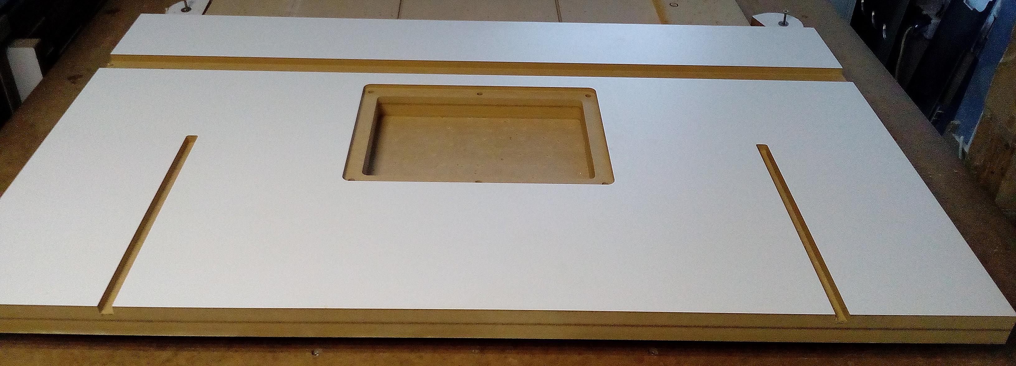Столешница для фрезерного стола