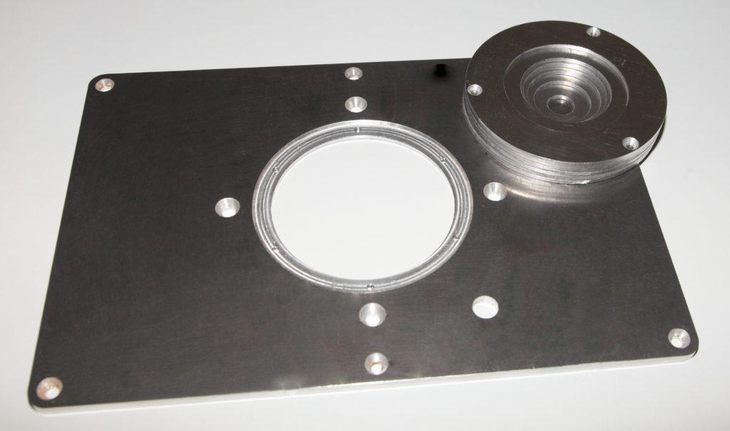 Пластина для ручного фрезера СМТ7Е