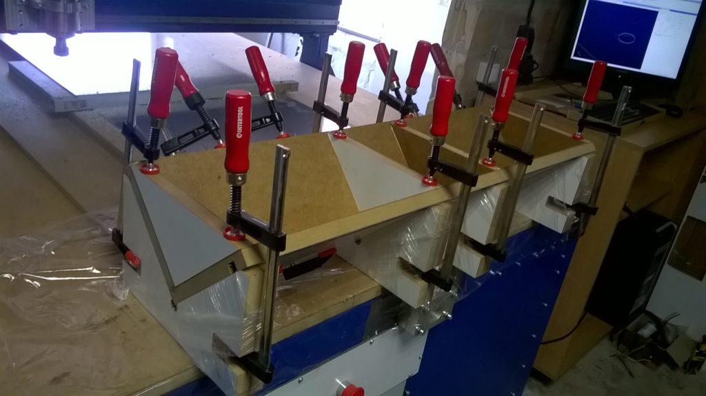 боковой упор для фрезерного стола