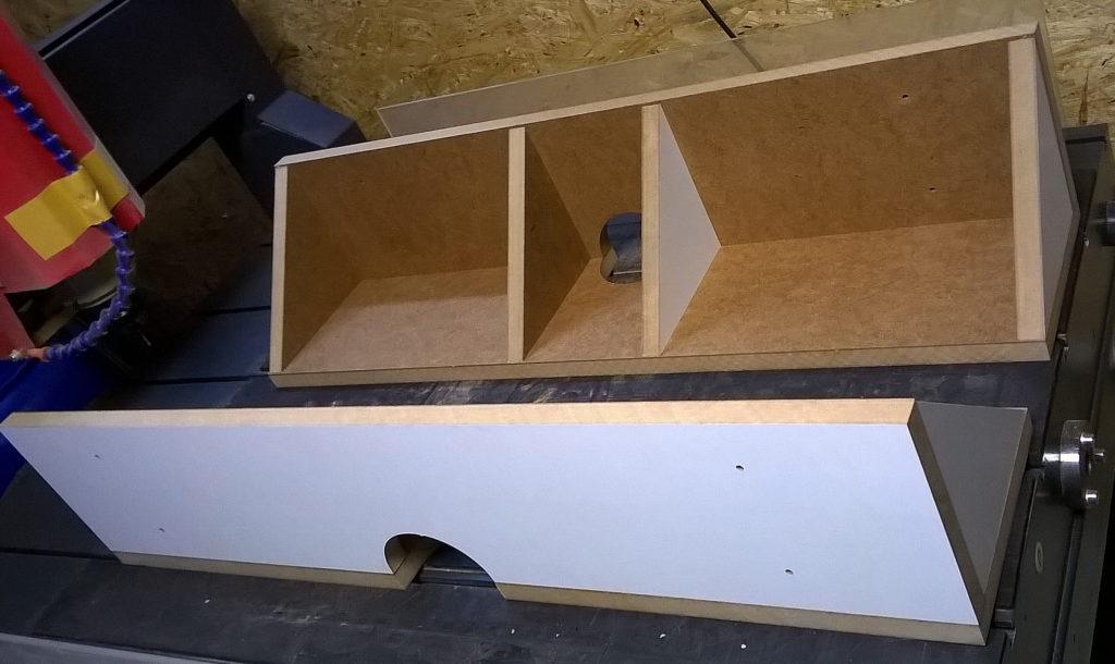 Столешница для фрезерного стола. Боковой упор.