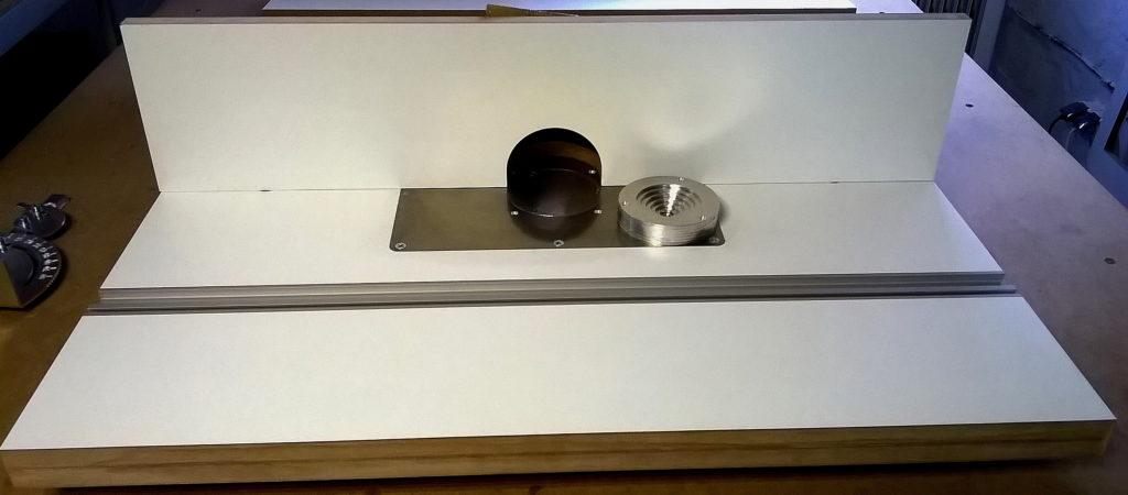 Стол для ручного фрезера. Минимальный набор.