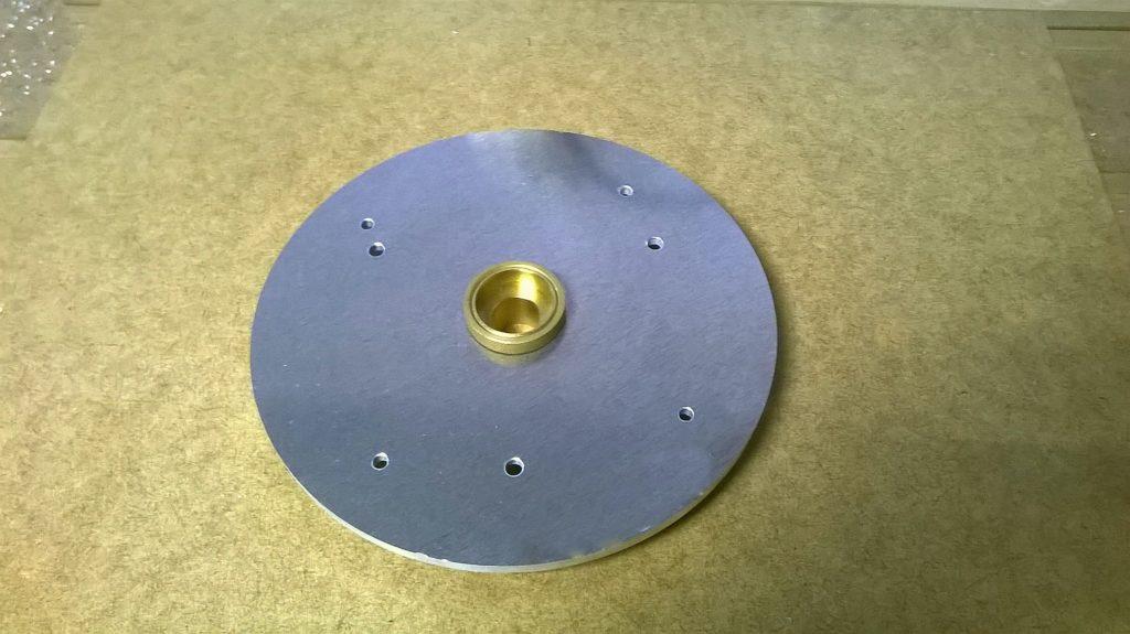 База под копировальные втулки для ручного фрезера