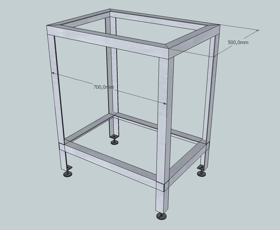 Стол для ручного фрезера