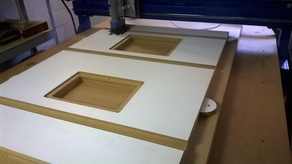 Изготовление комбинированной столешницы.